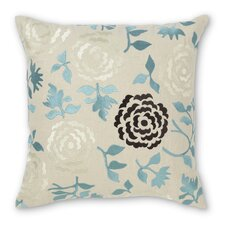 Wallflower Linen Throw Pillow
