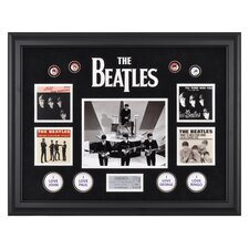 The Beatles 'On The Ed Sullivan Show' Framed Memorabilia