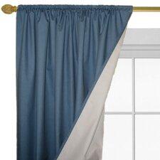 Denim Fire Resistant Curtain Panels (Set of 2)
