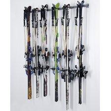 6 Ski Storage Rack