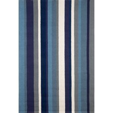 Newport Marine Vertical Stripe Indoor/Outdoor Area Rug