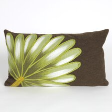 Visions II Palm Fan Indoor/Outdoor Lumbar Pillow