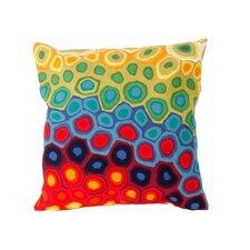 Pop Swirl Indoor/Outdoor Throw Pillow
