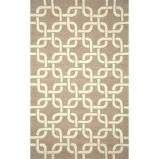 Spello Chains Natural Outdoor Area Rug