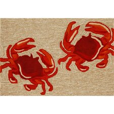 Frontporch Crabs Area Rug