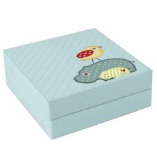 Hippo Quilted Baby Puzzle Box