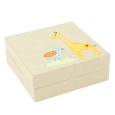 Giraffe Quilted Baby Puzzle Box