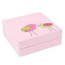 Birds Quilted Baby Puzzle Box