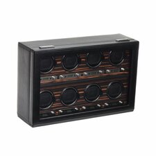 Roadster 8 Module Winder Watch Box