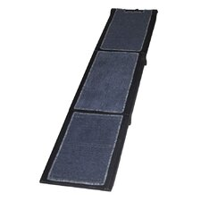 "Carpeted Tri-Fold 71"" Pet Ramp"