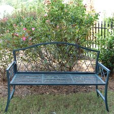 Mimosa Steel Garden Bench