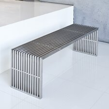 Lanser Bench Brushed Metal