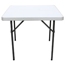 "35"" Square Folding Table"