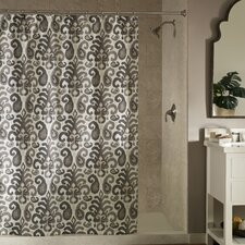 Ikat Plume Shower Curtain