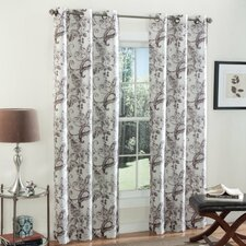 Batik Blossom Curtain Panel (Set of 2)