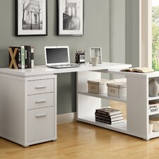 Corner Desk in White