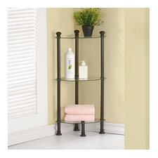 "12"" W x 33"" H Bathroom Shelf"