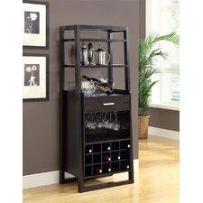 Ladder Bar with Wine Storage