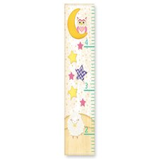 The Kids Room Owl on the Moon, Stars, and Sheep Growth Chart