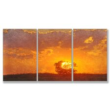 Farewell my Friend Triptych 3 Piece Wall Plaque Set