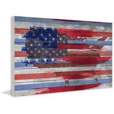 """United States"" Painting Print"