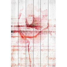 "Floral & Botanical ""Flower 3"" Painting Print"