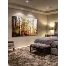 Aspen Graphic Art on Premium Wrapped Canvas