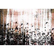 Aspen Wood - Art Print on Premium Canvas