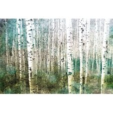 Aspen Green Graphic Art on Premium Wrapped Canvas
