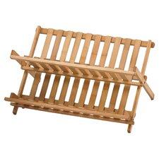 Bamboo Folding Dish Rack (Set of 6)