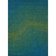 Artistry Blue/Green Wave Area Rug