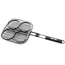 Deluxe Hamburger Grill Basket