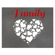 Family Love Graphic Art Print