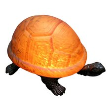 """Turtle Accent 4"""" H Table Lamp with Novelty Shade"""