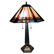 "Mission Elegant 28"" H Table Lamp with Empire Shade"
