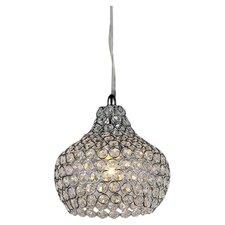 Kiss 1 Light Mini Crystal Chandelier