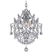 3 Light Crystal Pendant
