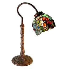 "Grape 19"" H Table Lamp with Bowl Shade"
