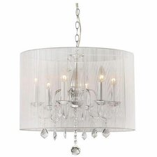 Williams 6 Light Crystal Chandelier