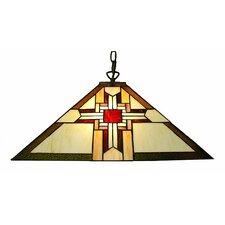 Mission-Style 2 Light Pendant