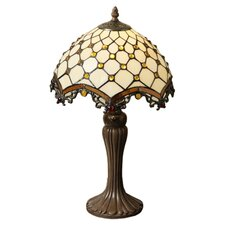 "Jewel Roman 21"" H Table Lamp with Bowl Shade"