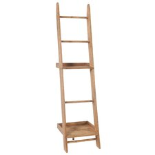 """73.6"""" Leaning Bookcase"""