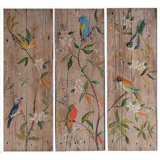 3 Piece Wooden Wall Decor Set (Set of 3)