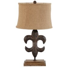 "27"" H Table Lamp with Bell Shade"