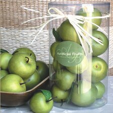 Decorative Green Apples (Set of 12)