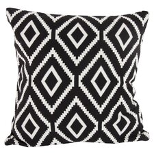 Ekra Cashmere-Blend Pillow in Black