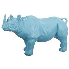 Standing Rhinocerous Decor