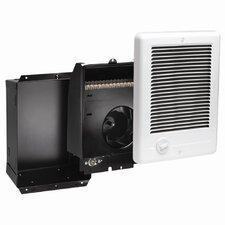 Com-Pak Plus Series 1,500 Watt Wall Insert Electric Fan Heater