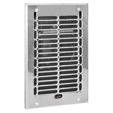 1,000 Watt Wall Insert Electric Fan Heater with Frame