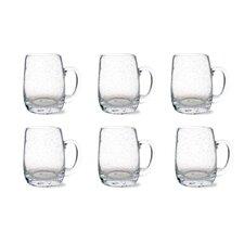 Tag Bubble Beer Mug (Set of 6)